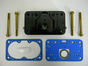 Holley Qft Aed Ccs 4412 Xp Billet Metering Block Complete Sold As Each 1