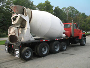 Ford L9000 Cement Mixer Truck Lt9000 Ford Heavy Duty Chassis 97 848 Miles