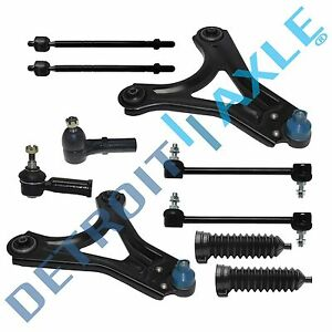 New 10pc Complete Front Suspension Kit For Mercury Cougar Mystique Ford Contour