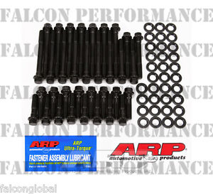 Chevy 283 327 350 383 400 Arp Performance Race Cylinder Head Bolt Washer Kit Hex