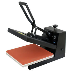 15 x15 dual Lcd Digital Heat Press Machine For T shirts Htv Transfer Sublimation