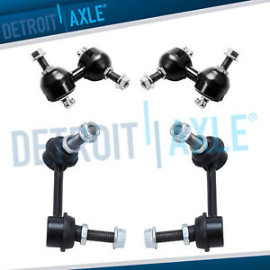 Brand New 4pc Complete Front Rear Sway Bar End Link Kit For 02 06 Honda Cr v