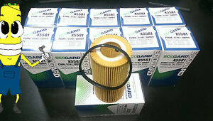 Premium Oil Filter For Audi Quattro A3 A4 Tt W 2 0l Engine 2005 2009 Case Of 12