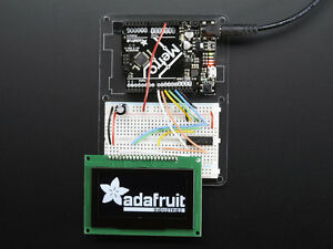 Adafruit 2 7 Monochrome 128x64 Oled Graphics Display Module Kit Arduino Screen