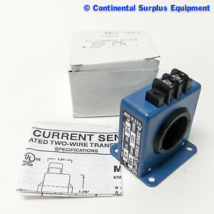 Katy Instrument Ac Current Sensor Model 420 L Range 150 In 5 40 Vdc Out 4 20 Ma