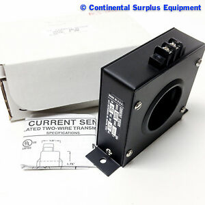 Katy Instrument Ac Current Sensor Model 420 Xl Range 300 In 5 40 Vdc Out 4 20 Ma