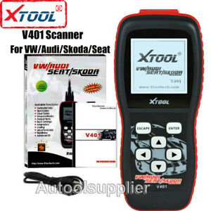 Xtool Vag401 Scanner For Vw Audi Skoda Seat Obdii Abs Srs Engine Code Reader