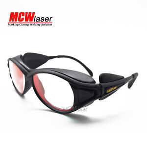 2x Laser Goggles Safety Glasses For 808nm 830nm 850nm Ir Infrared Laser Od5 B