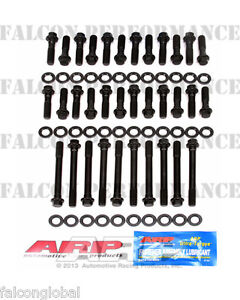 Dodge plymouth 440 Arp Performance race Cylinder Head Bolt washer Kit