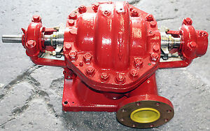 Fairbanks Morse 5972 500 Gpm 280 Hd 2 Stage Horizontal Centrifugal Water Pump