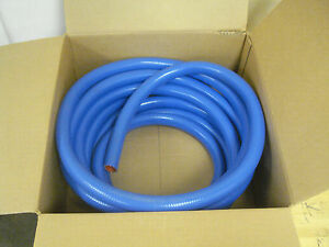 1 Silicone High Temp Heater Hose Purosil Made In Usa Sold By The Foot Blue