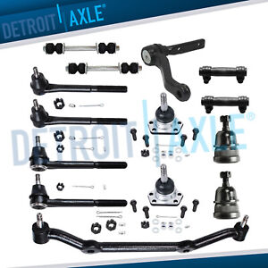 New 14pc Complete Front Suspension Kit For Chevy Gmc Truck S10 Blazer 2wd