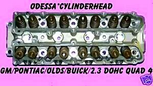 Gm Pontiac Olds Buick Calais 2 3 Dohc Quad 4 Cylinder Head Cast 456 Only Rebuilt