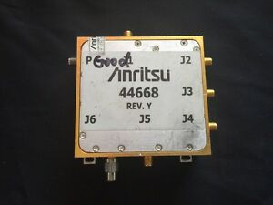 Anritsu Port 3 Module 44668 Vector Network Measurement System Ms462xx