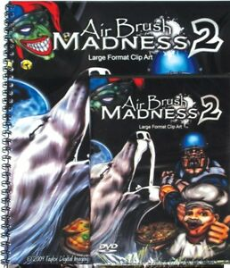 Air Brush Madness 2 Xtreme Graphics Large Format Clip Art Prints Vinyl Signs