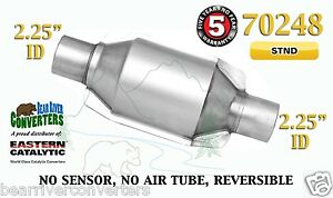 70248 Eastern Universal Catalytic Converter Standard 2 25 2 1 4 Pipe 8 Body