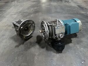 Motovario Electric Motor And Variable Gear Reducer N 9620617 5 1