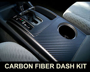 Fits Mazda Miata 99 00 Carbon Fiber Interior Dashboard Dash Trim Kit Parts Free
