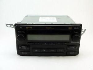 2004 2008 Toyota Matrix Radio And 6 Cd Changer 86120 02410 Sku Q204
