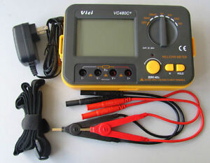 Usa Seller Vc480c 3 1 2 Multimeter Digital Milliohmmeter With Power Supply Cord