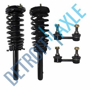 Front Strut Coil Spring Sway Bar Kit For 1998 1999 2000 2001 2002 Honda Accord