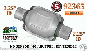 92365 Eastern Universal Catalytic Converter Eco Iii 2 25 2 1 4 Pipe 6 Body