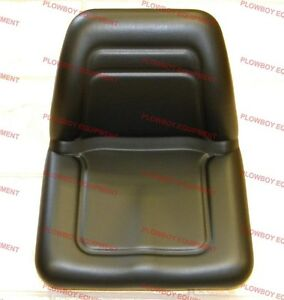 Universal Michigan Style Black Seat For Case Ih Tm555bl New No Slide Tracks