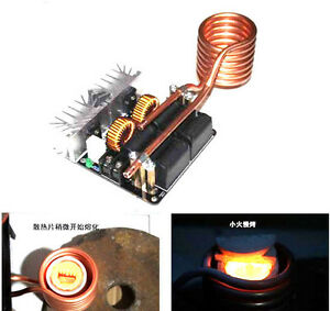 20a 1000w Zvs Low Voltage Induction Heating Board Module Flyback Driver He