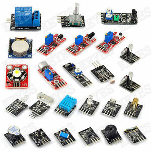 24pcs Sensors Module Kits Infrare Temperature For Arduino Uno R3 Mega2560 Due