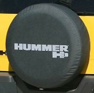 2005 2010 Hummer H3 Black Spare Tire Cover Non reflective New Free Shipping Usa