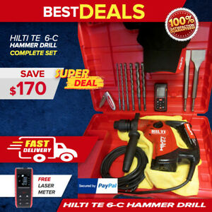 Hilti Te 6 c Hammer Drill Made In Europe One Of The Best Free Measure Laser