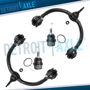 2005 2010 Jeep Grand Cherokee Commander Upper Control Arm W lower Ball Joint 4pc