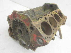 Corvette Chevy Passenger Car Original 265 Bare Engine Block 3703524 H 8 5 1955
