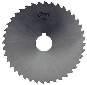 1 8 Thick X 8 Diameter X 1 1 4 Arbor Hole 48 Teeth Hss Plain Slitting Saw