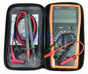 New Dm4070 3 1 2 Digital Lcr Meter W self discharge 2000uf
