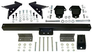 1955 57 Chevy Belair Engine And Transmission Mount Kit 3 4 Forward Location
