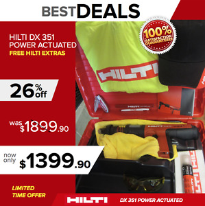Hilti Dx 351 Bt Power Actuated Tool Preowned Free Extras Fast Shipping