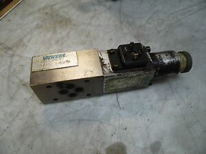 Vickers Hydraulic Valve Sg307 f v2 55 W Manifiold Used Warranty