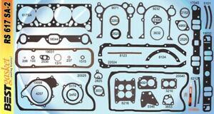 Pontiac 326 389 421 Full Engine Gasket Set Kit Best Head Intake Oil Pan 1961 67