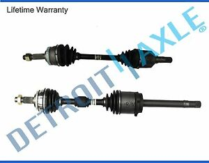 Both 2 Front Cv Axle Joint Drive Shaft For 1998 2001 Altima Abs Auto Trans