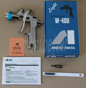 Anest Iwata W 400wb 132g 1 3mm Gravity Spray Gun Without Cup From Japan