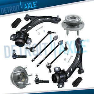 2005 2009 Ford Mustang Front Lower Control Arm Ball Joint Tierod End Kit 12pc