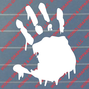 Bloody Zombie Hand Decal Car Truck Tuner Jdm Import Sticker