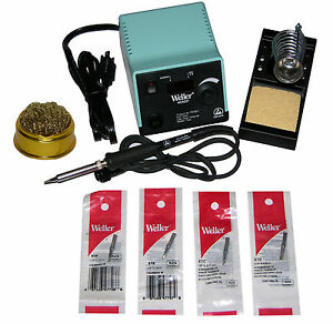 Weller Wesd51 Digital Soldering Station With Chisel Tip Bundle Tip Cleaner