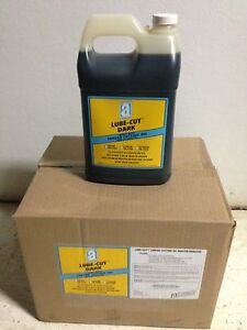 6 One Gallons Dark Threading Oil Ridgid 300 535 700 1822 1224 Pipe Threaders