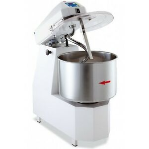Spiral Dough Mixer 35 Liters 25kgs 55lb 2 Speed With Timer
