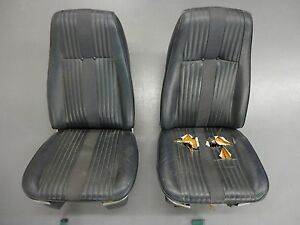 Thunderbird Bucket Seats Ford Car Truck Good Foam Classic High Back Torino