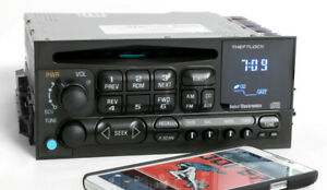 Chevy Gmc 1995 2002 Truck And Radio Am Fm Cd Player Upgraded W Bluetooth Music
