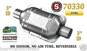 70330 Eastern Universal Catalytic Converter Standard Catalyst 3 Pipe 10 Body