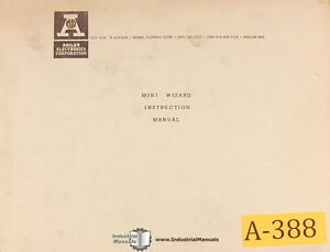 Anilam Mini Wizard Dro Instructions And Features Manual